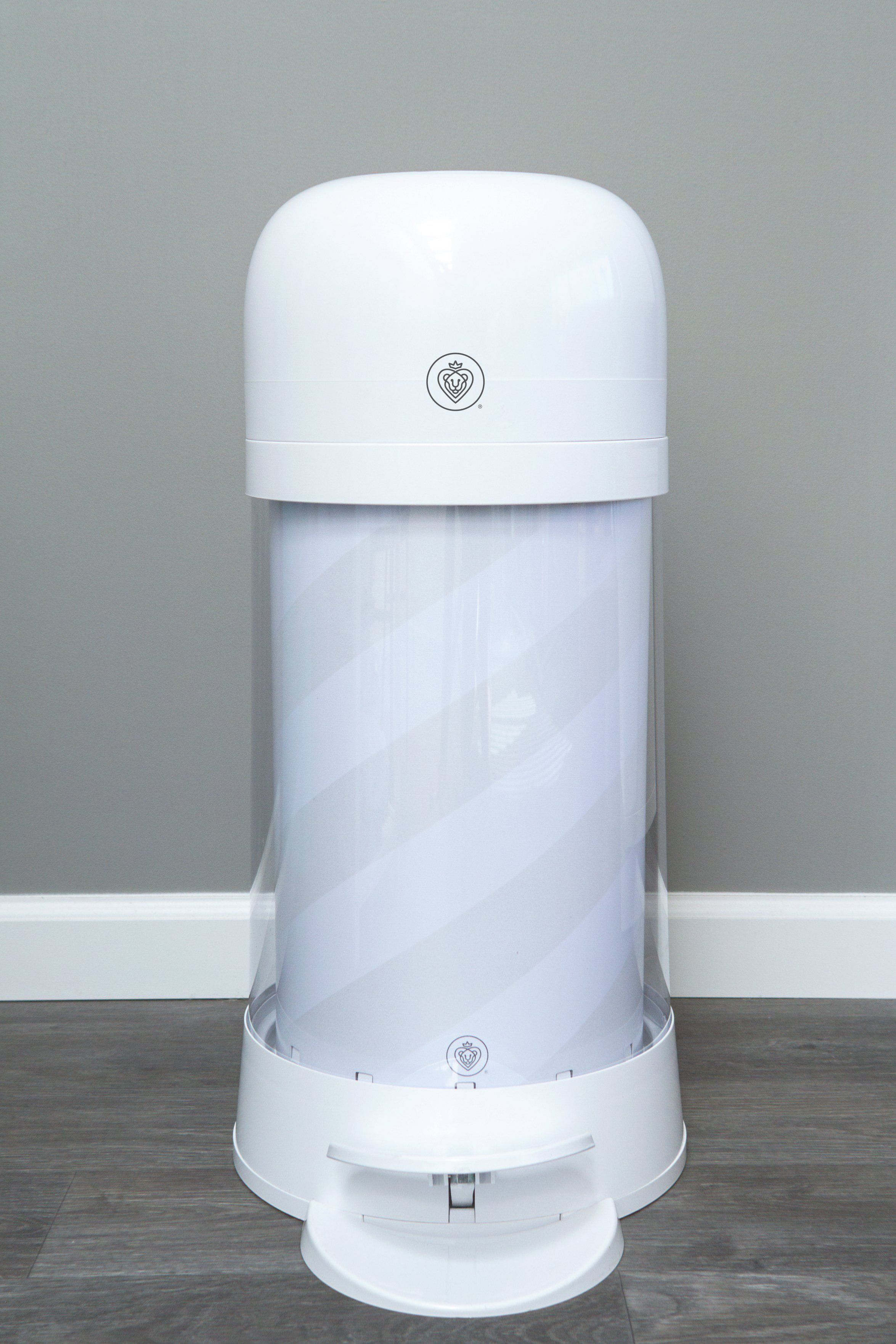 Prince Lionheart Twister Nappy Disposal System - White