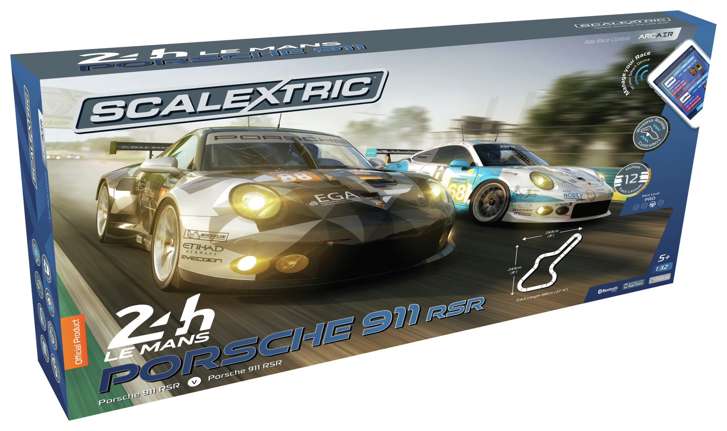 Scalextric Arc Air Le Mans Racing Track Set