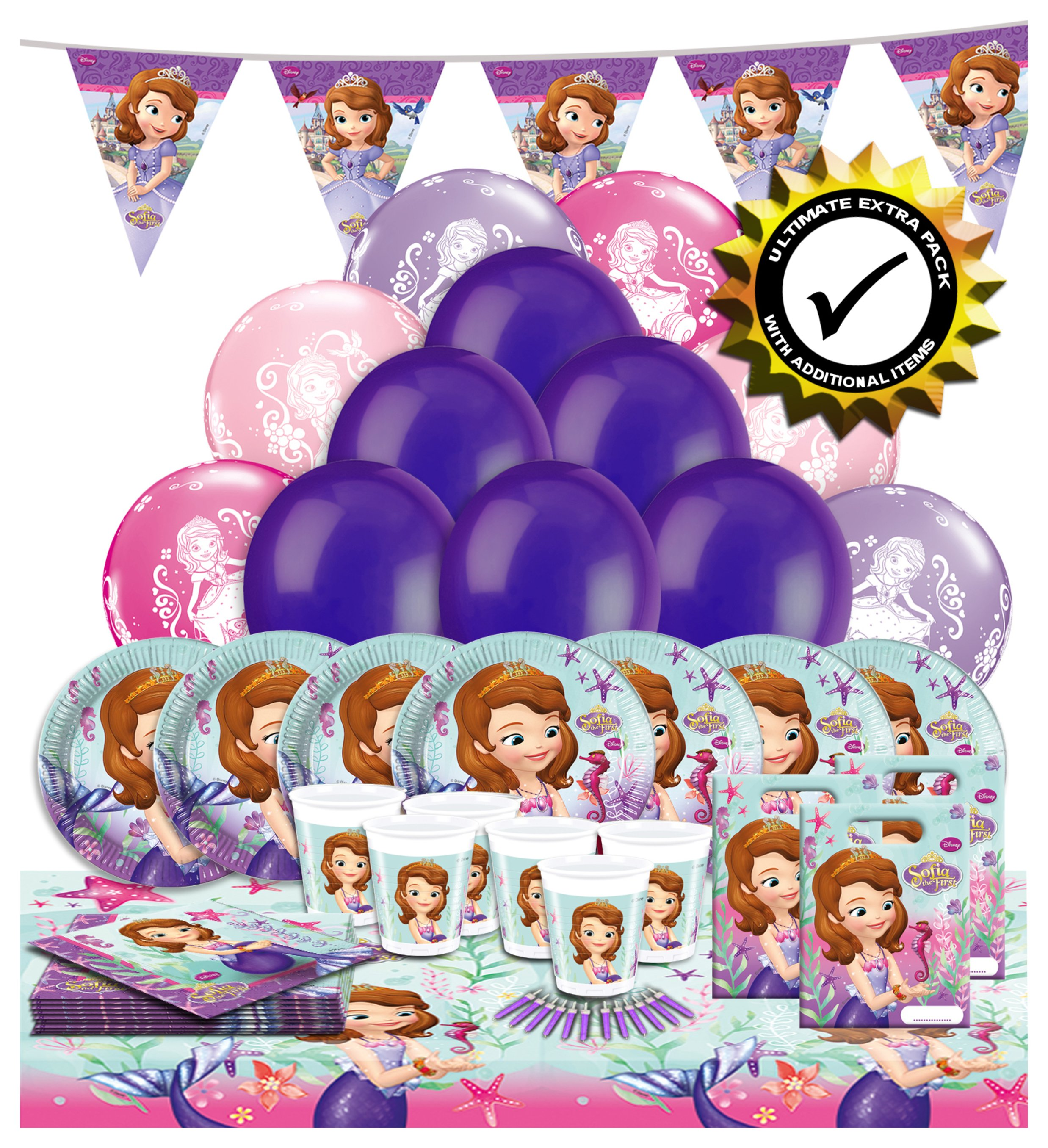 Disney Ultimate Extra Sofia Party Pack