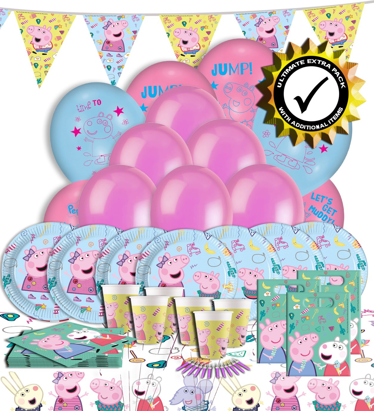 Peppa Pig Ultimate Extra Peppa Pig Party Pack review