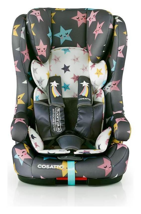 Cosatto Hubbub Group 1/2/3 ISOFIX Car Seat - Multicoloured