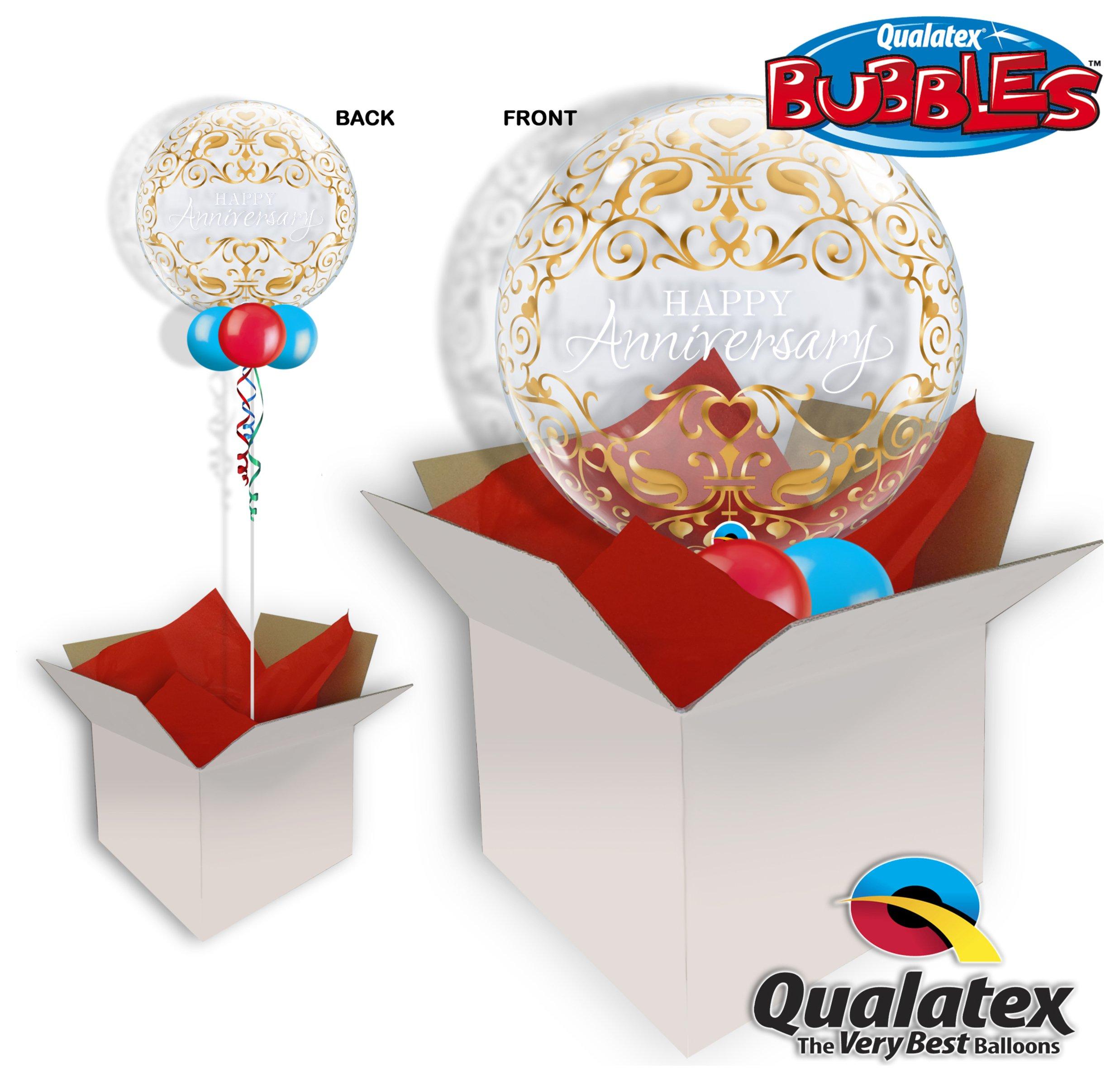 Classic Anniversary 22 Inch Bubble Balloon In A Box