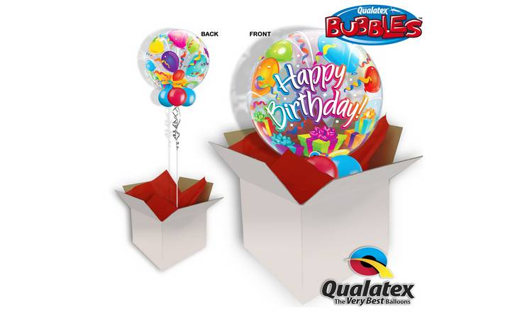 Birthday Surprise 22 Inch Bubble Balloon In A Box747 5102