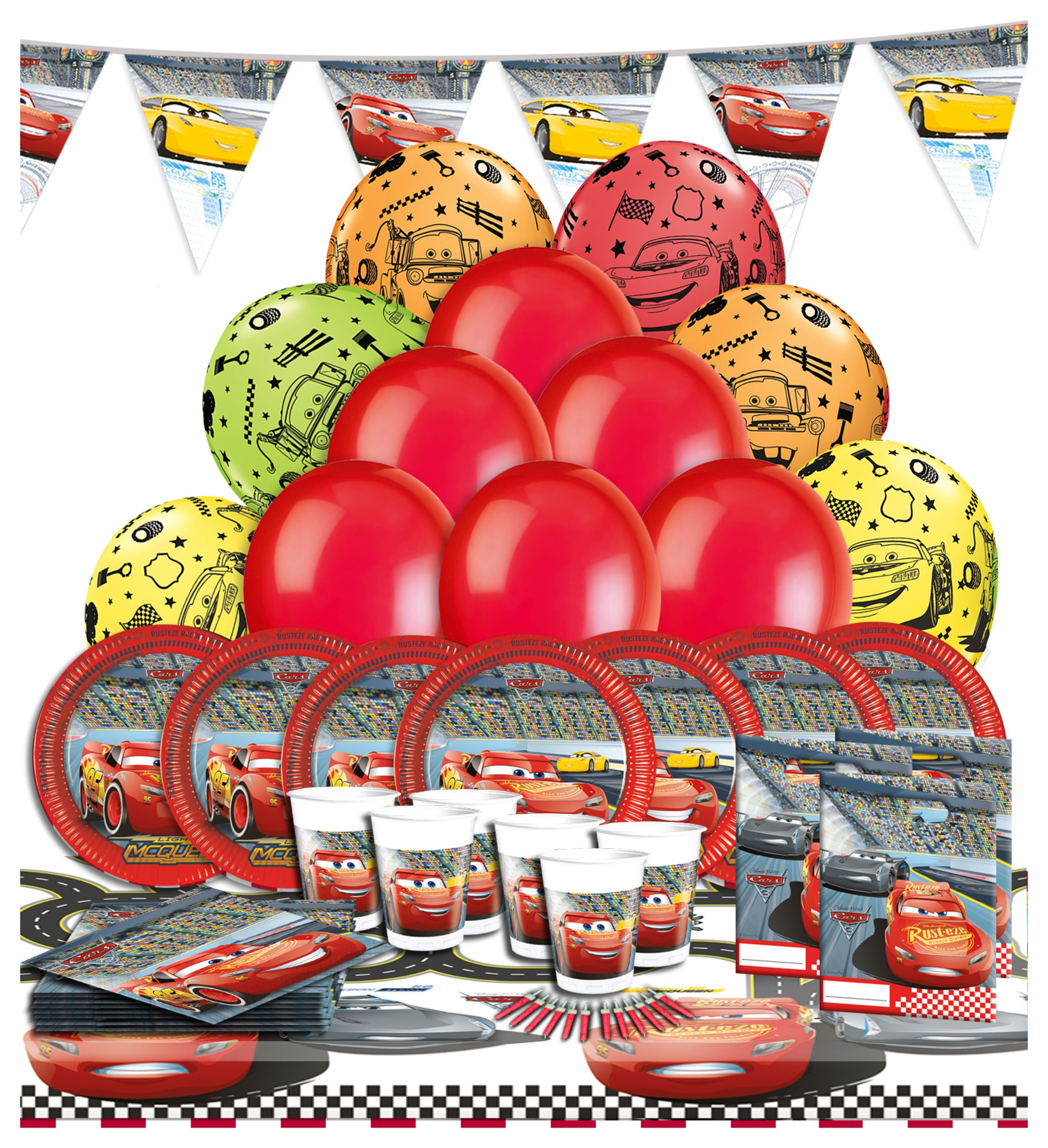 Image of Disney Pixar Cars 3 Ultimate Party Pack