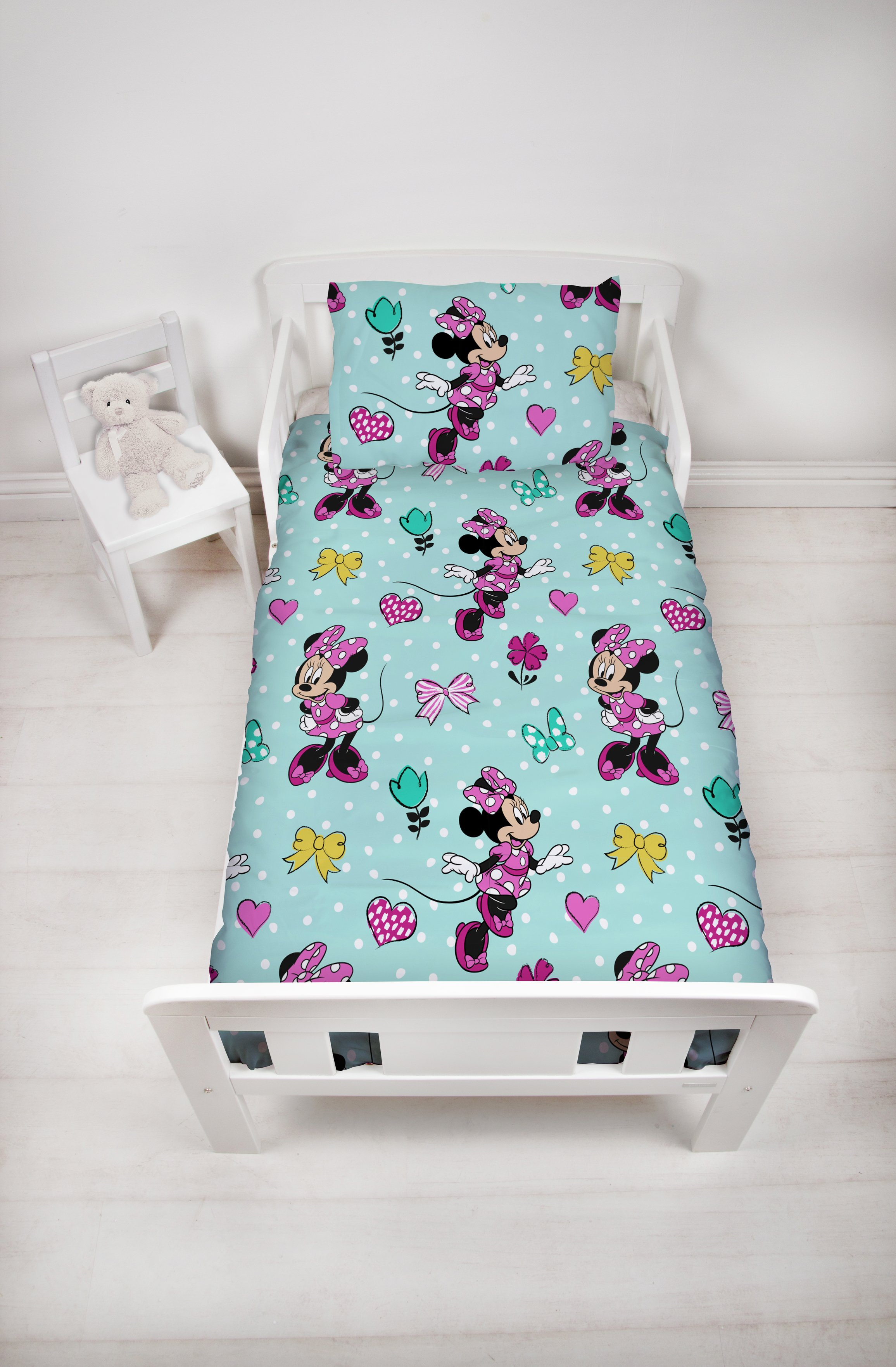 Minnie Mouse Skip Toddler Bed in a Bag