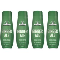 SodaStream Classics Ginger Ale Flavour 4 Pack