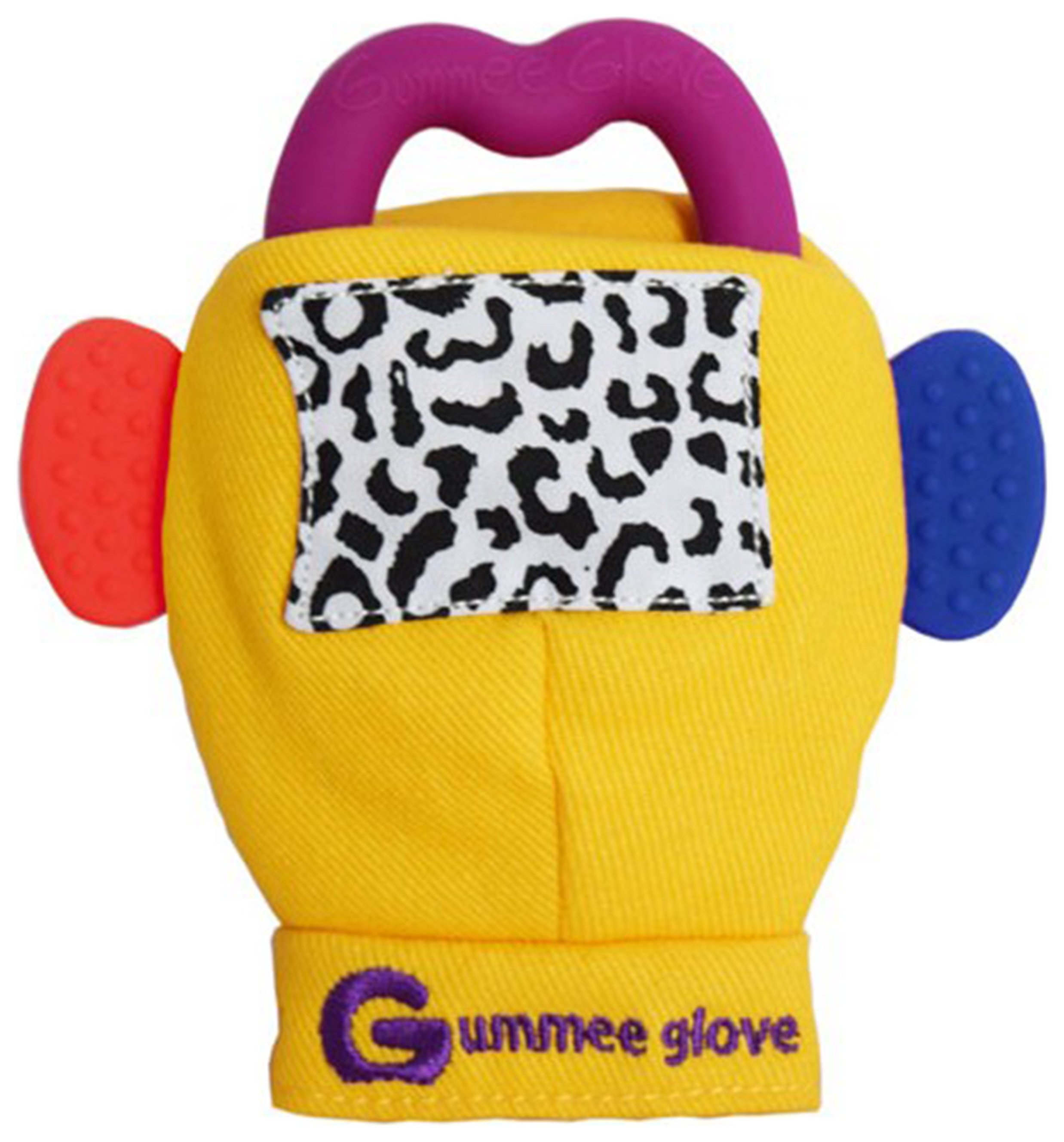 Image of Gummee Glove Mitten for 3-6 Months - Yellow