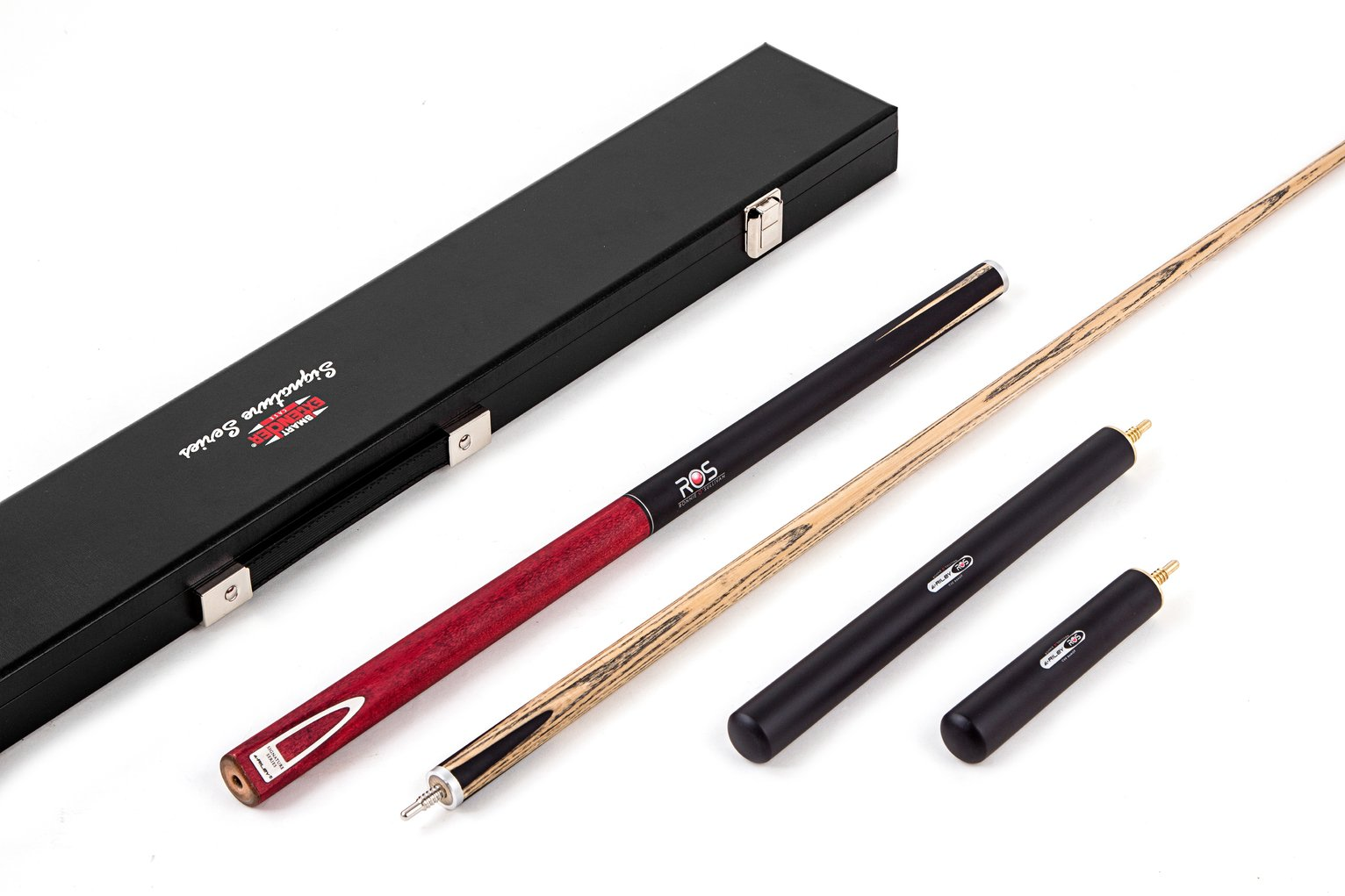 Riley Ronnie Signature Series 4 Piece Snooker Cue and Case