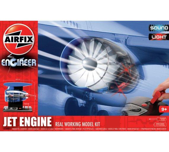 Buy Airfix Jet Engine Toy Craft Kits Argos