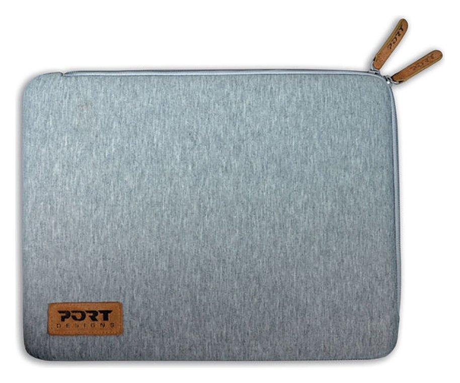 'Port Designs - Torino 13.3-14 Inch - Laptop Sleeve - Grey.