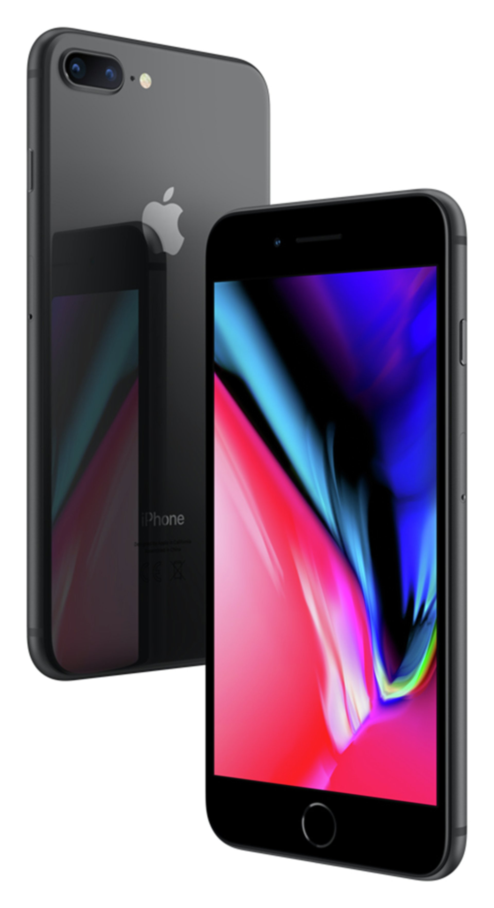 Apple Sim Free iPhone 8 Plus 64GB Mobile Phone - Space Grey