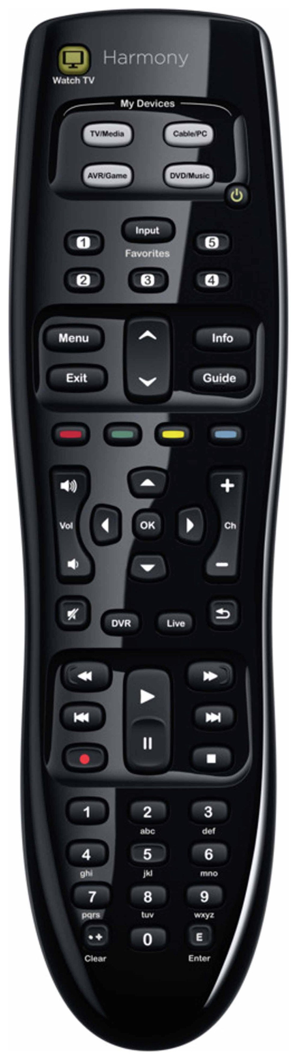 Image of Logitech Harmony 350 Universal Remote Control