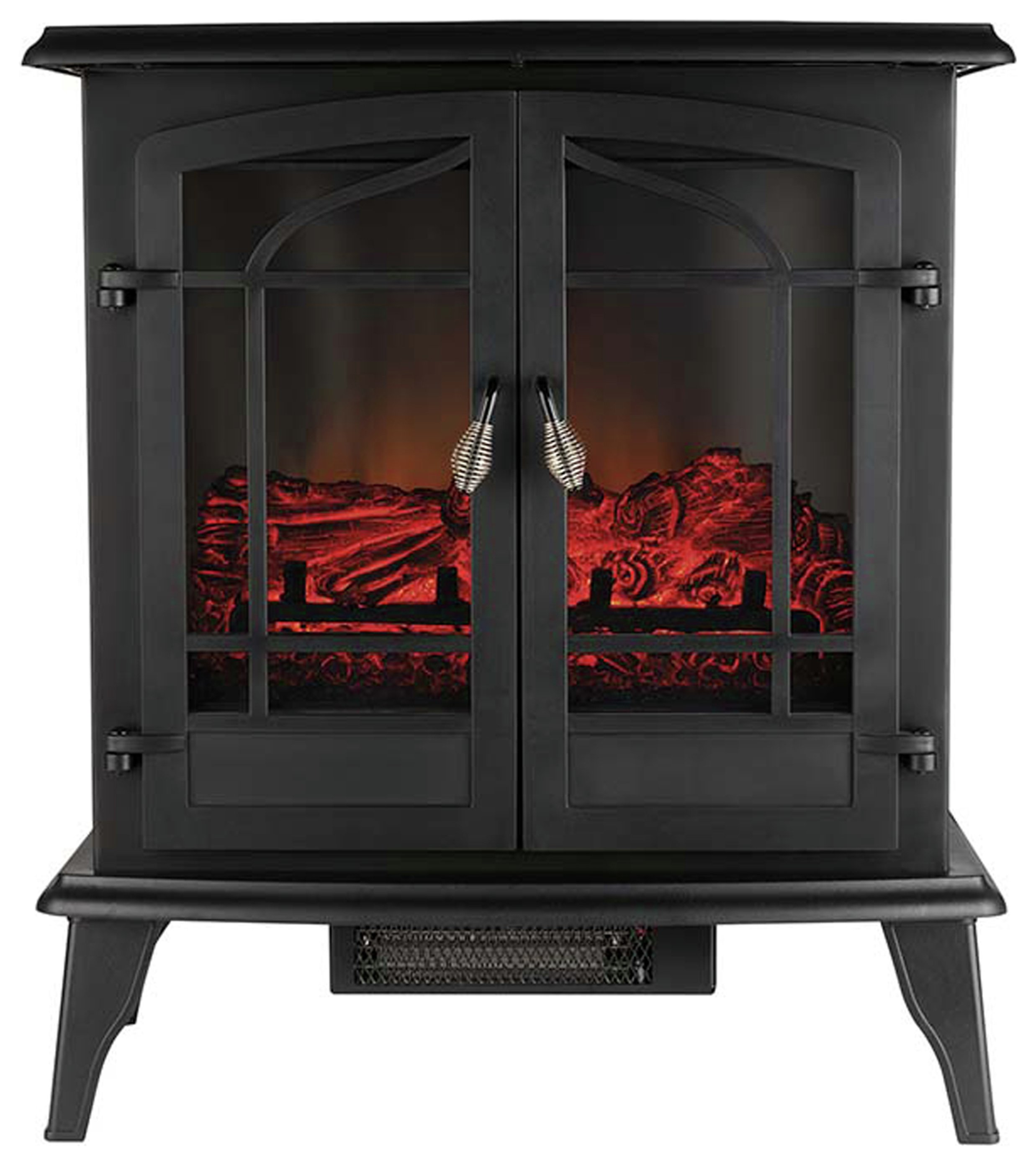 Image of Beldray Alcudia Glass Sided Electric Stove