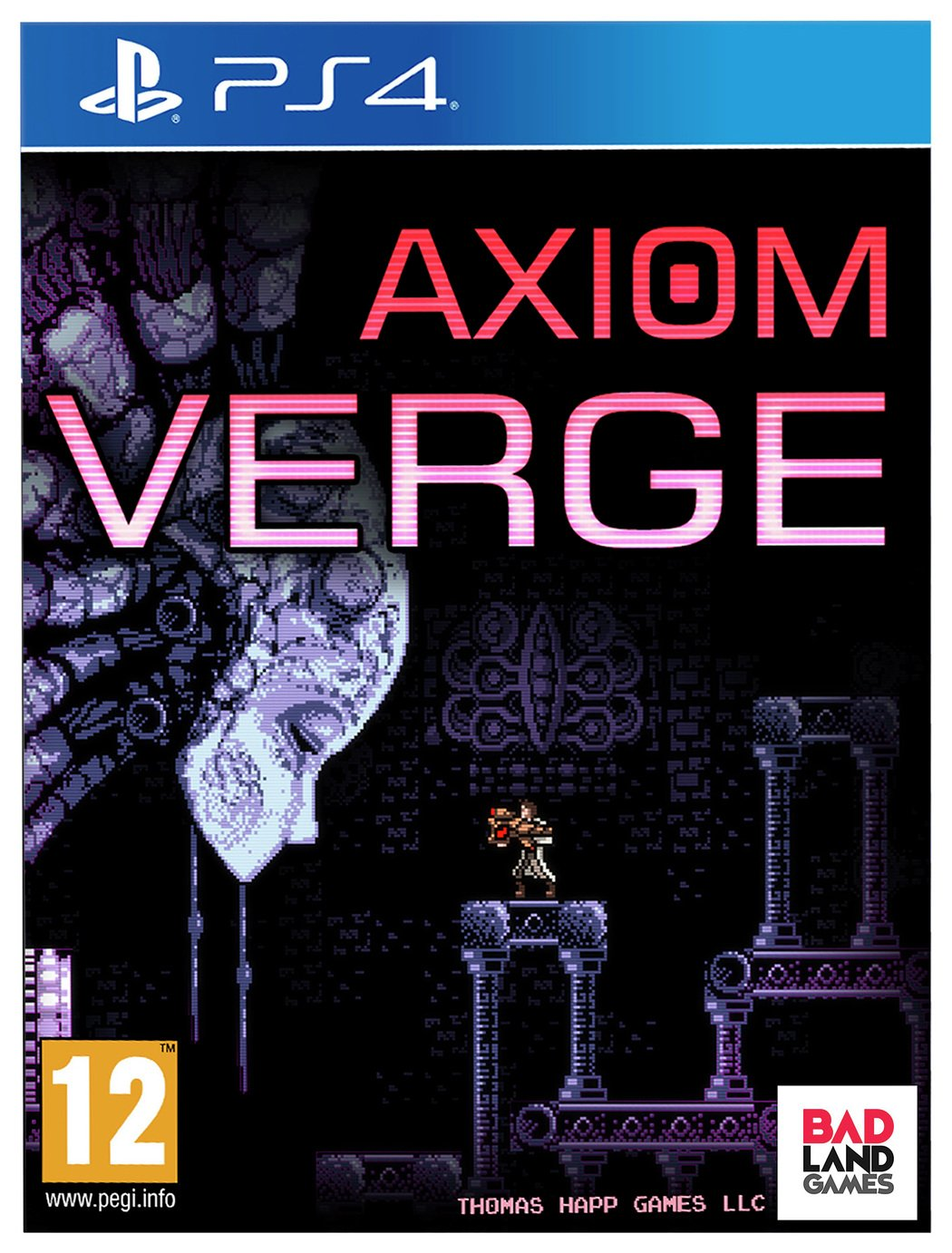 Image of Axiom Verge Standard Edition PS4 Game