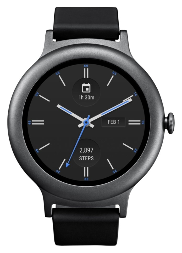 Image of LG Watch Style Smart Watch - Titanium