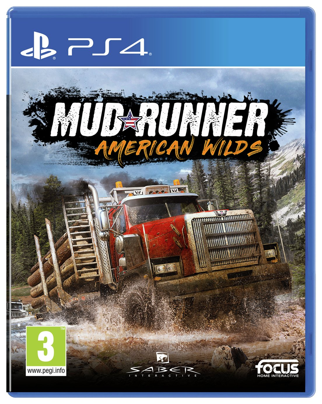 Spintires: MudRunner - American Wilds Edition (PS4) Best Price and Cheapest