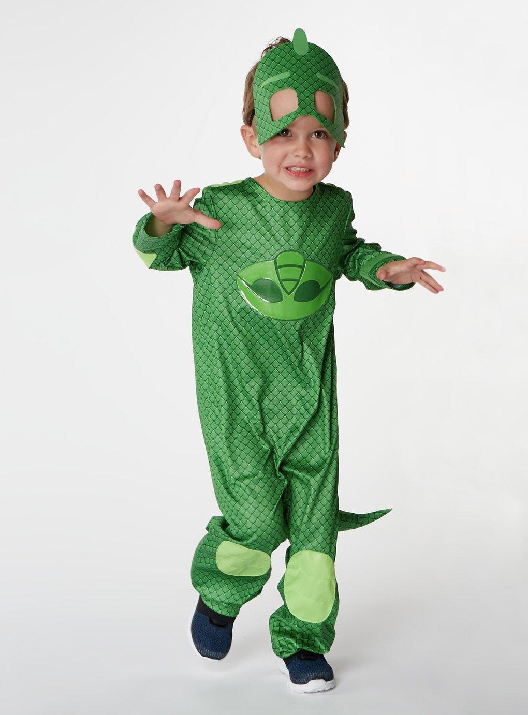 Image of PJ Masks Gekko Fancy Dress Costume - 3-4 Years