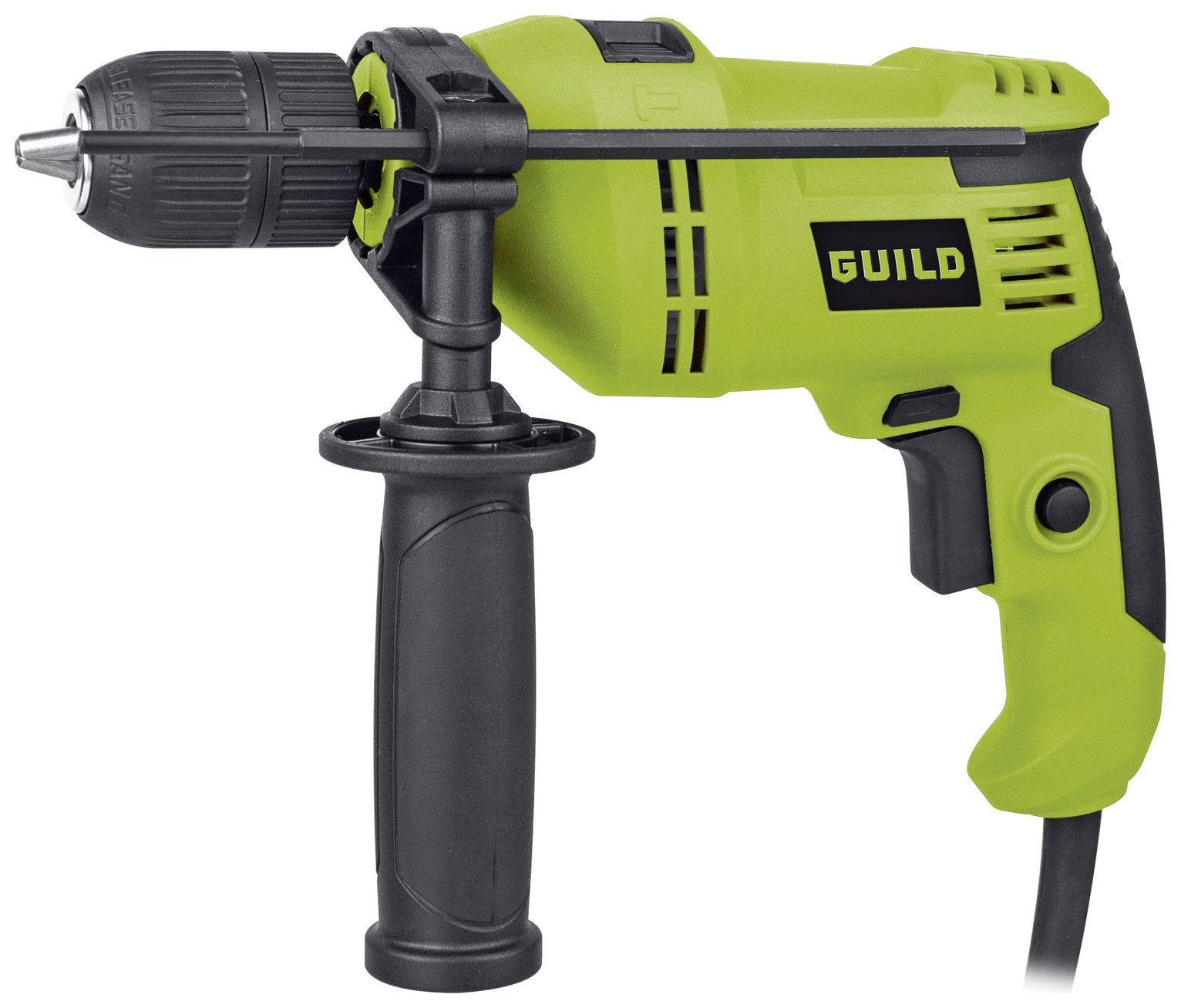 Image of Guild 13mm Keyless Corded Hammer Drill - 600W