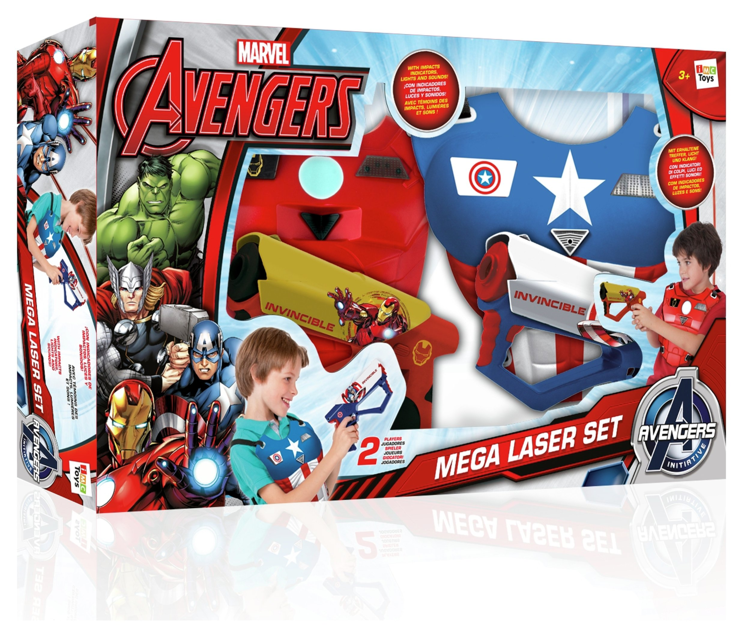 Image of Avengers Mega Laser Set.