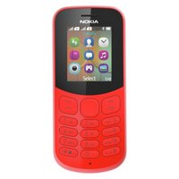 Sim Free Nokia 130 2017 Mobile Phone - Red