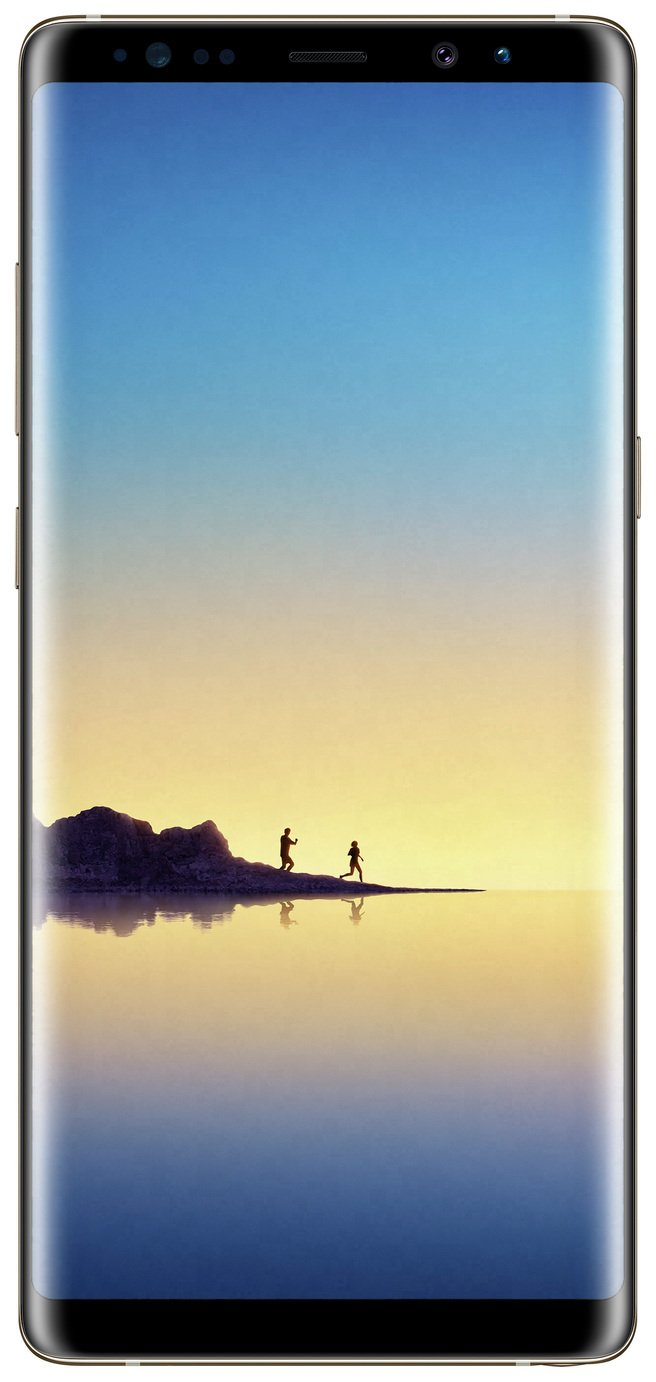 Samsung Sim Free Samsung Galaxy Note 8 Mobile Phone - Gold