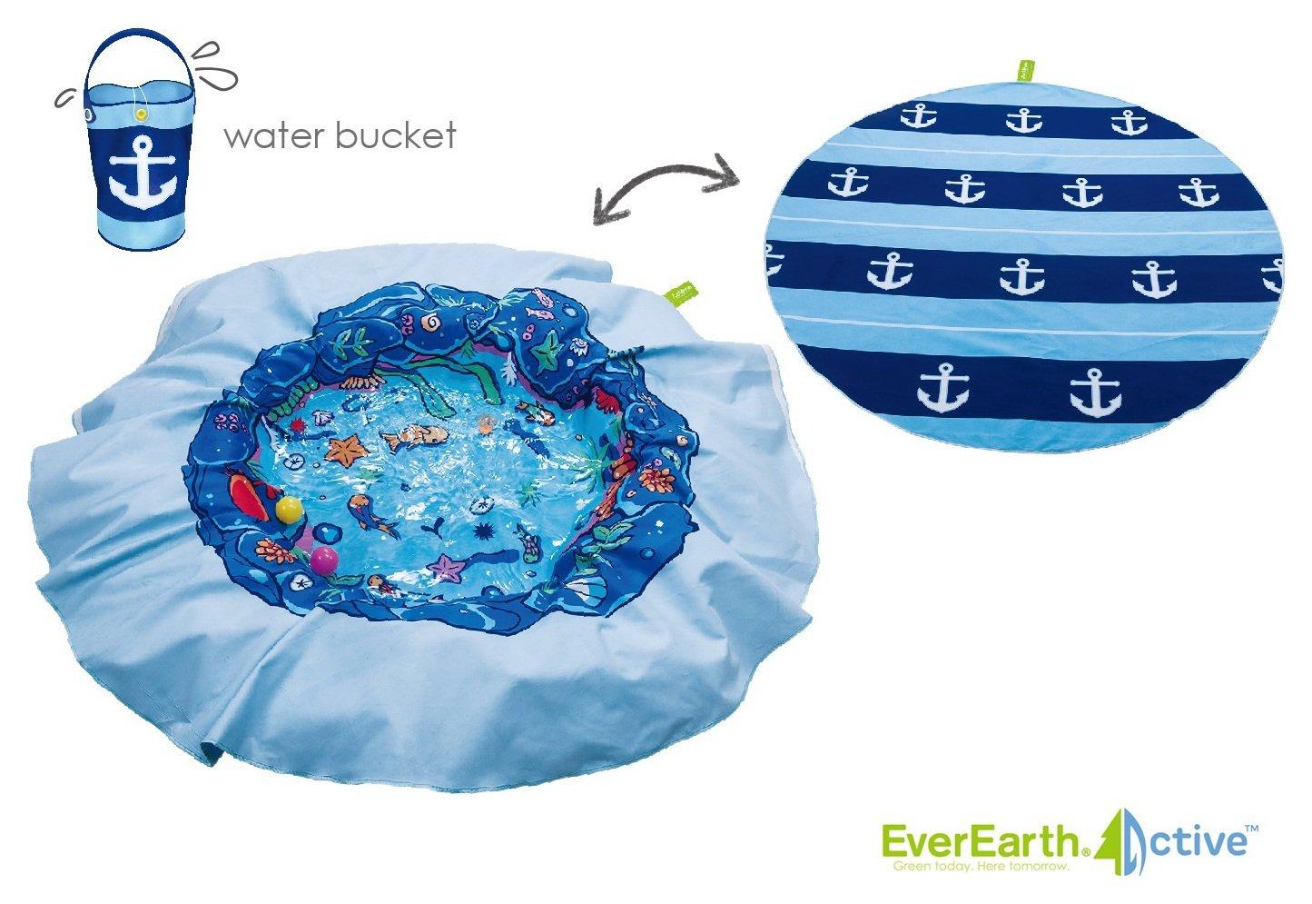 EverEarth Active E Lite Beach Blanket Pool