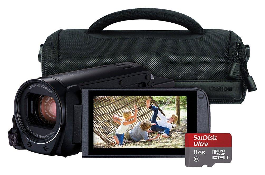 Canon Legria HF R806 Full HD Camcorder Bundle - Black