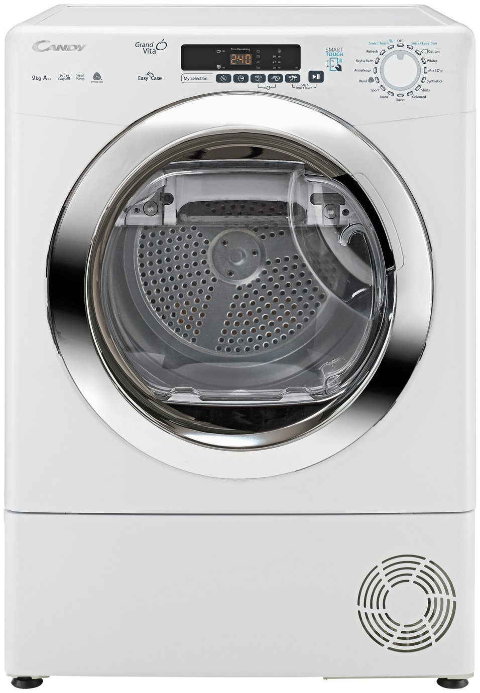 'Candy Gvsh9a2dce 9kg Heat Pump Condenser Tumble Dryer -white