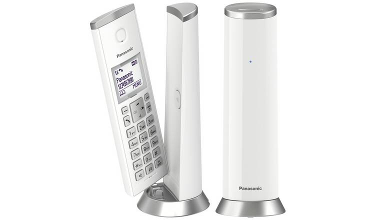 Panasonic  KX-TGK222EW Cordless Telephone Dect-White Twin