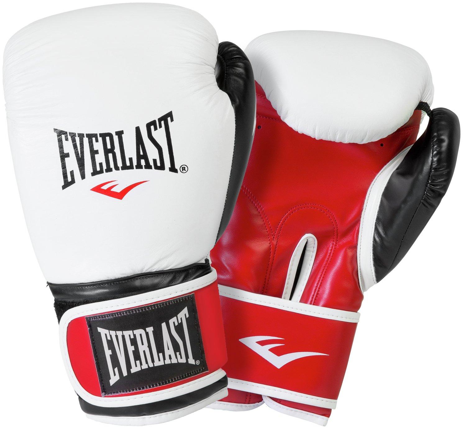 Everlast 14oz Leather Boxing Gloves