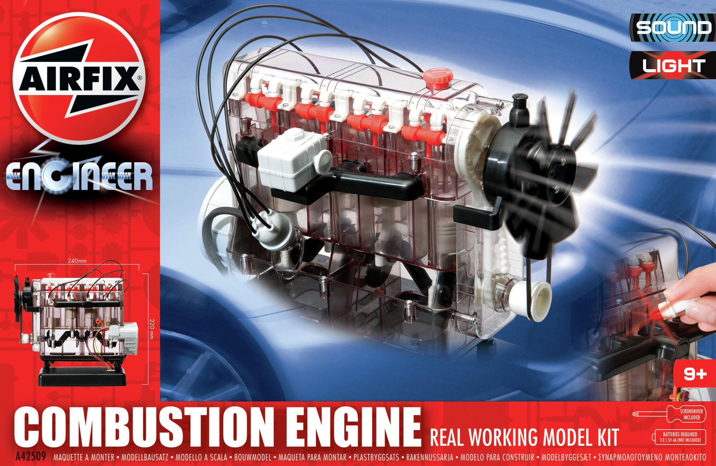 Image of Airfix Combustion Engine