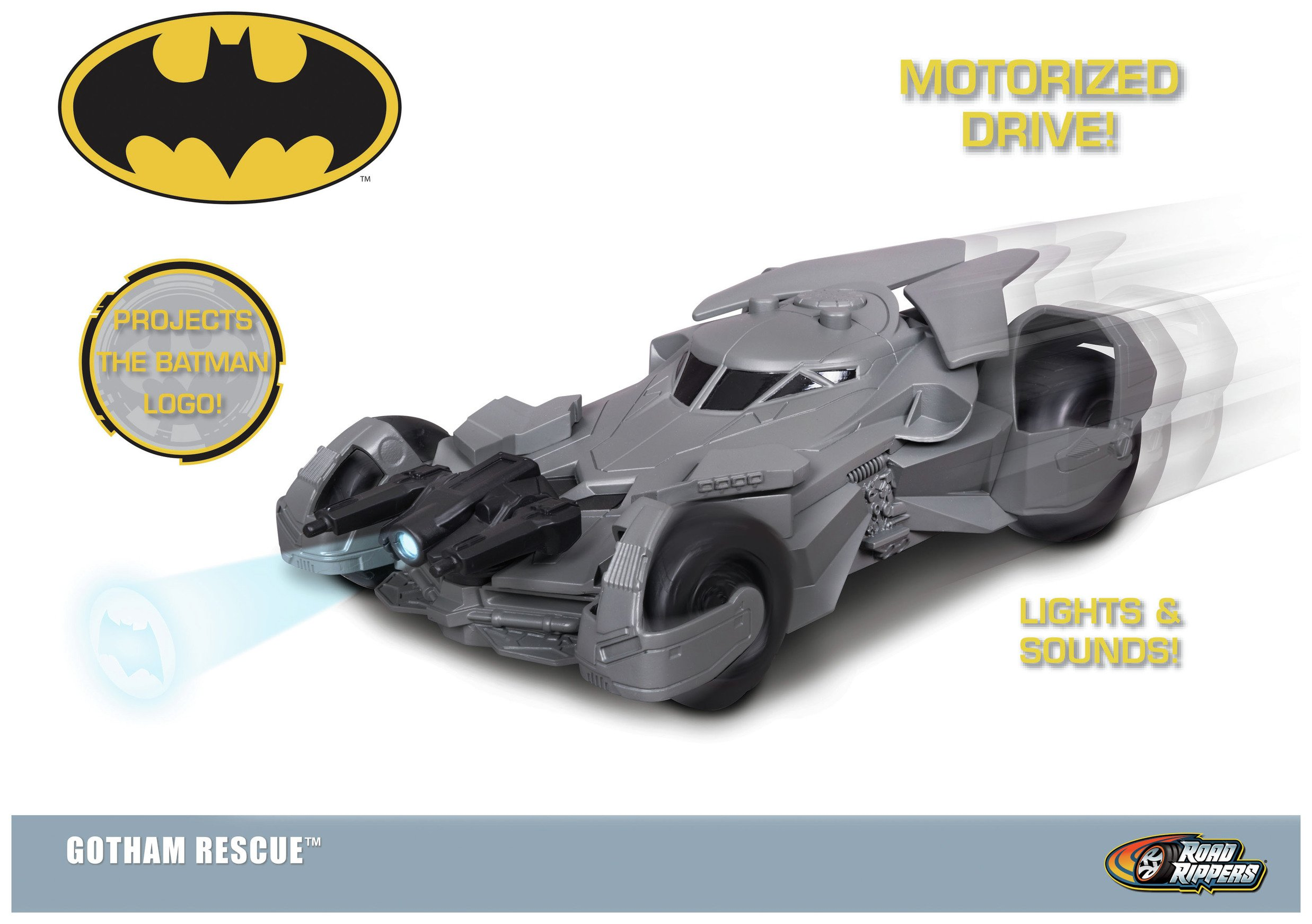 Image of DC Heroes Gotham Rescue Batmobile.