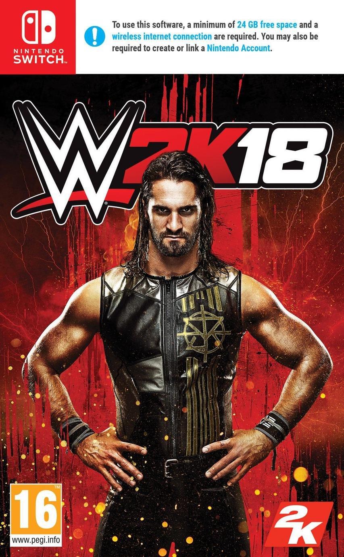 Image of WWE 2K18 Nintendo Switch Game