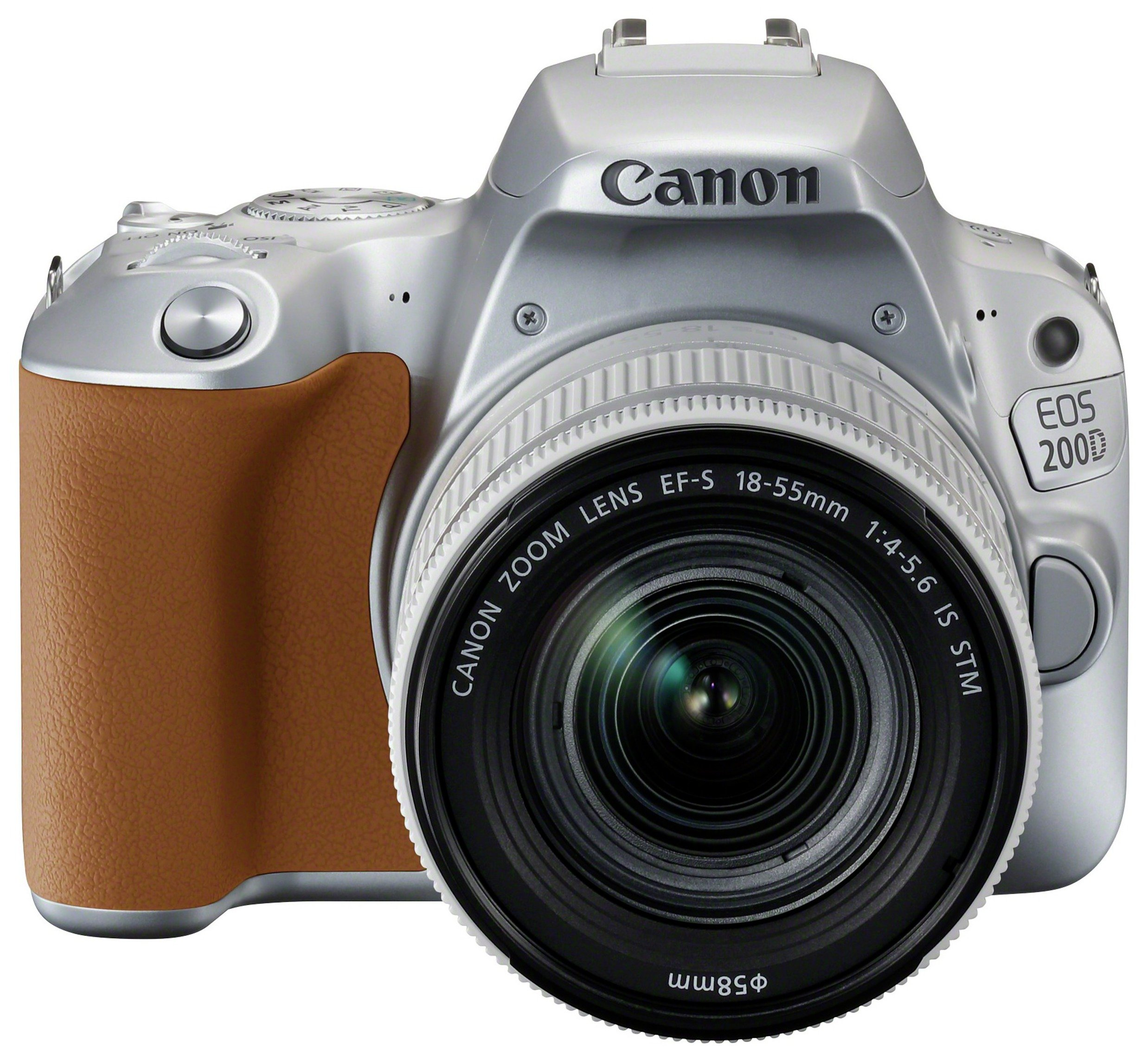 Canon EOS 200D DSLR Camera with 18 - 55mm Lens