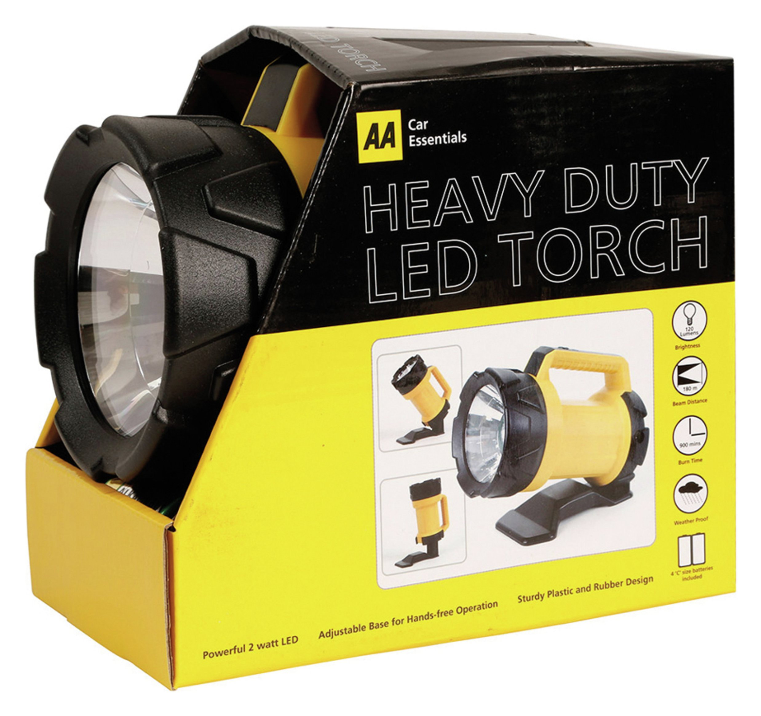 Image of AA Heavy Duty LED Torch