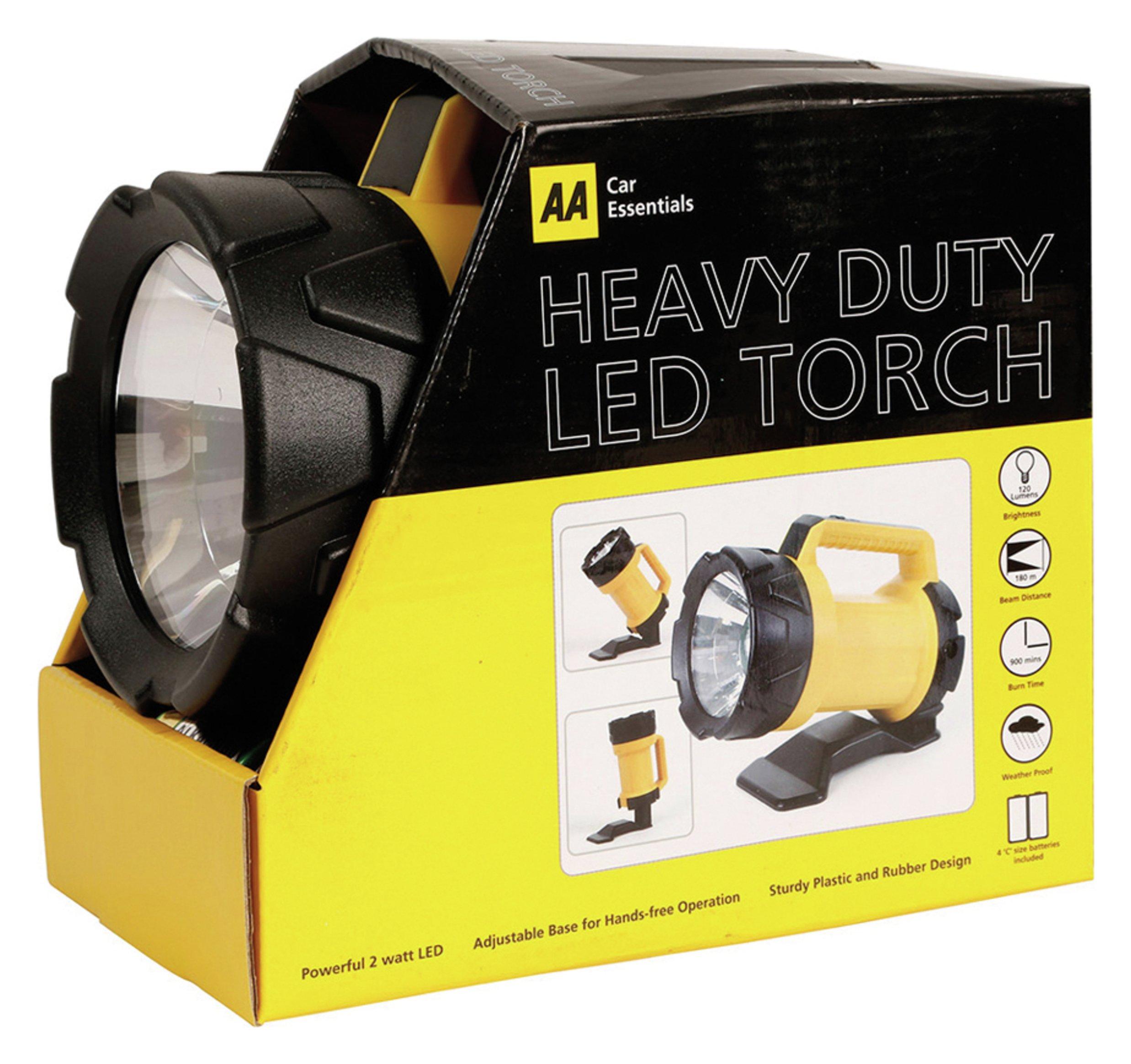 Image of AA Heavy Duty LED Torch