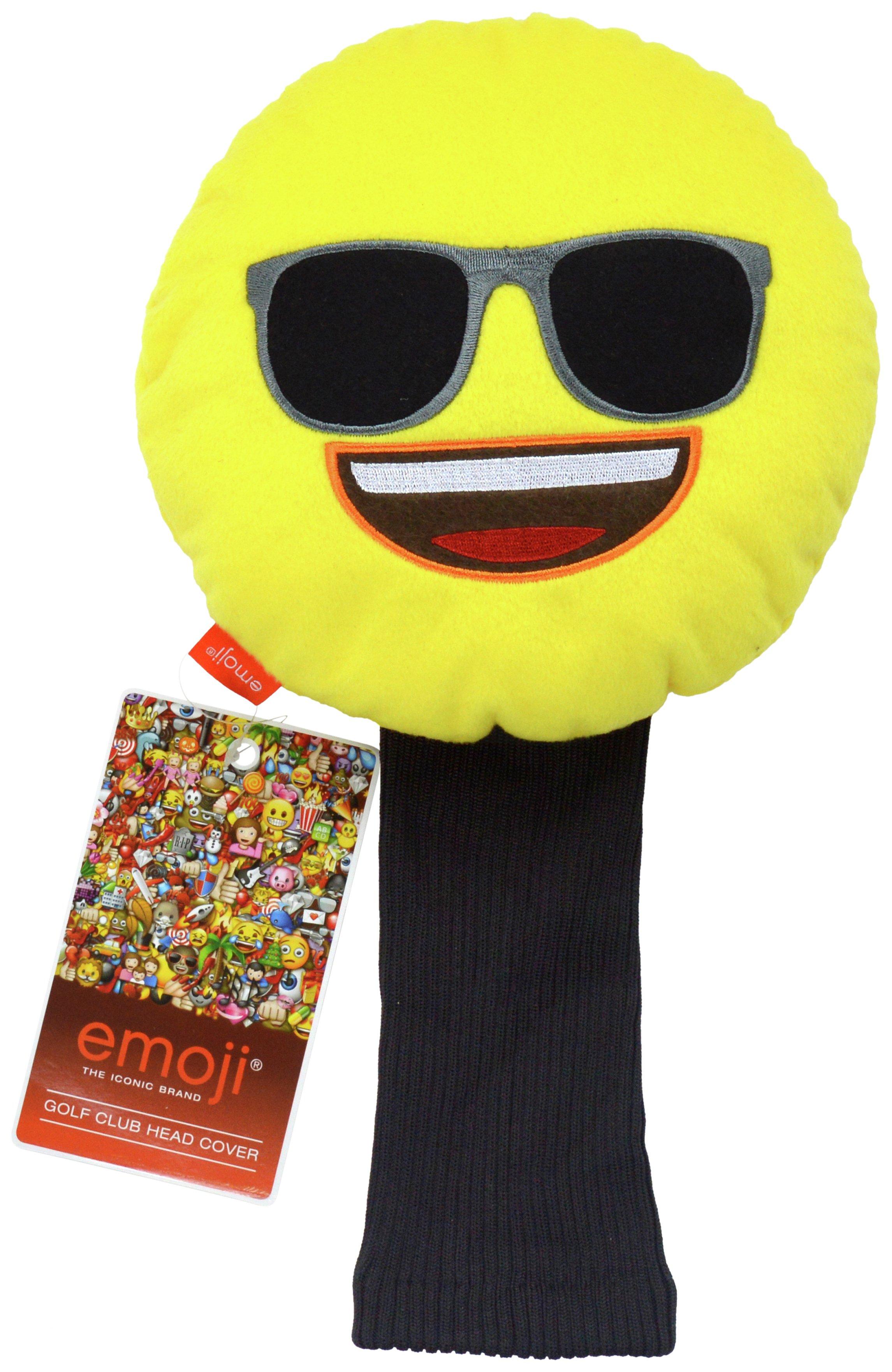 Image of Emoji Golf Headcover - Sunglasses