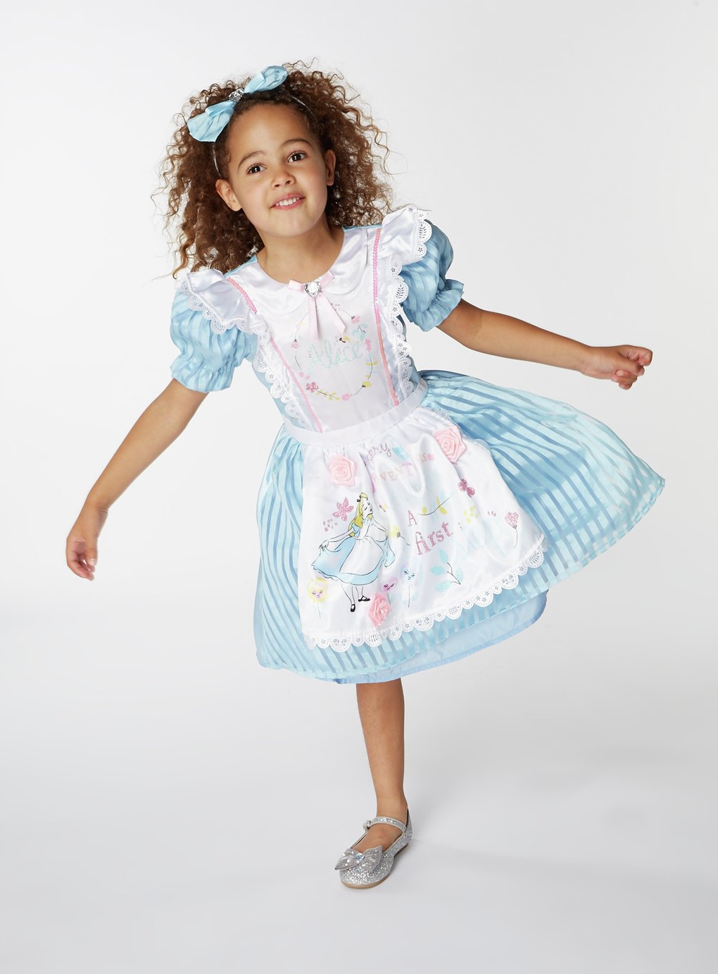 Image of Disney Alice in Wonderland Fancy Dress Costume - 7-8 Years