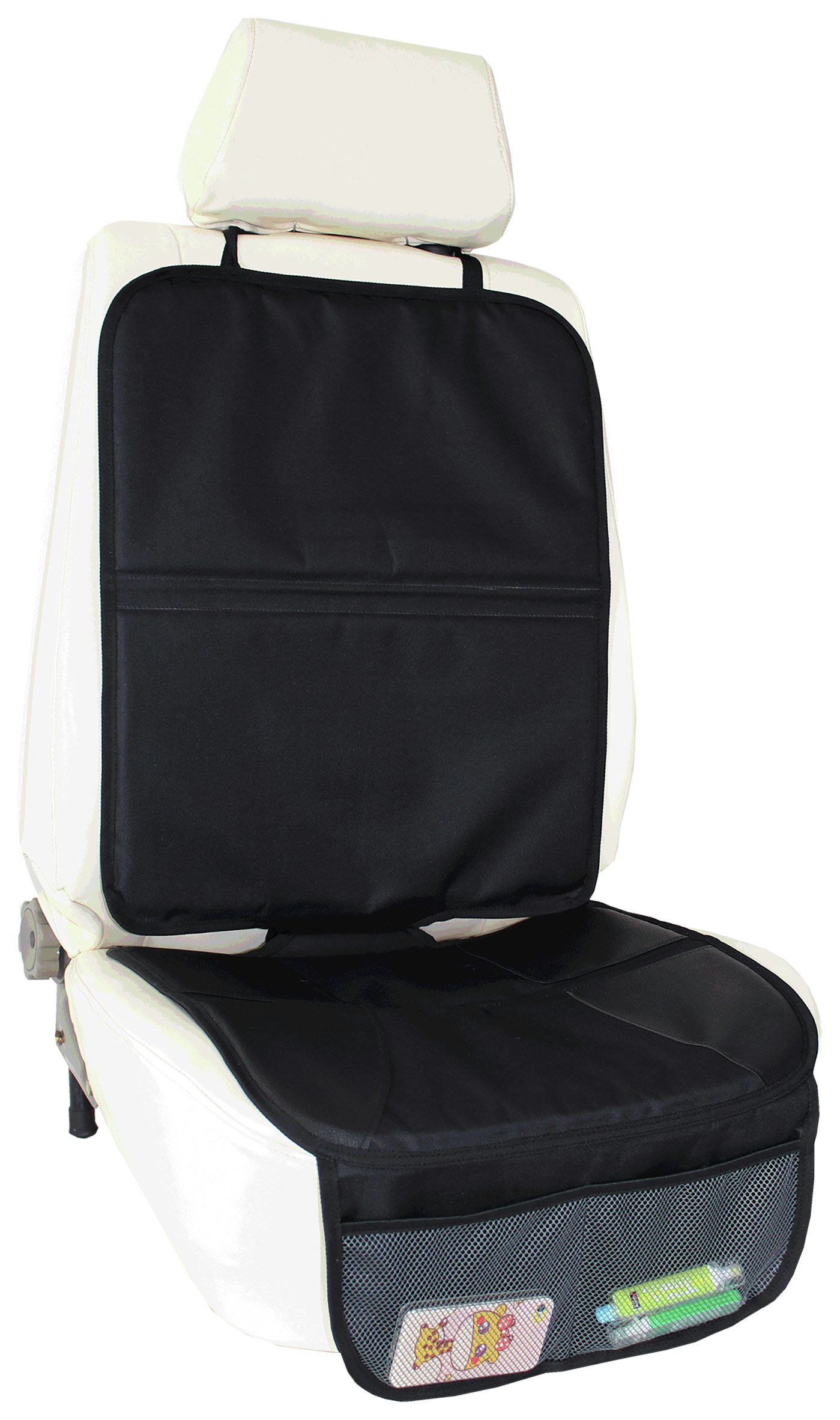 Image of Babydan Car Seat Protector with Storage