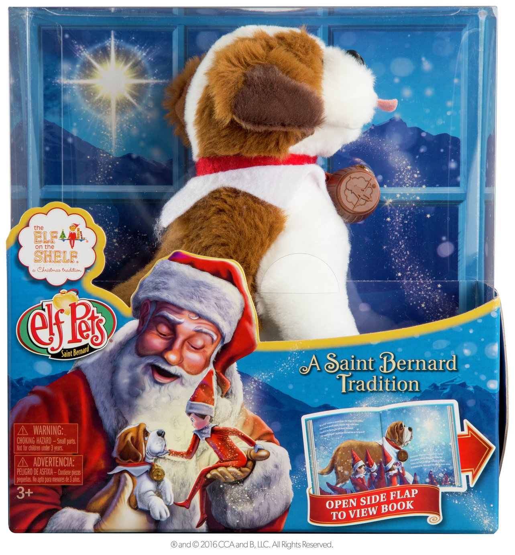 Elf on the Shelf - Elf Pets: A St Bernard Tradition.