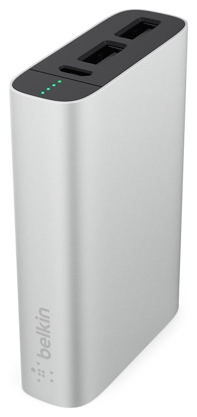 Image of Belkin 6600 Mixit Metallic Powerbank - Silver