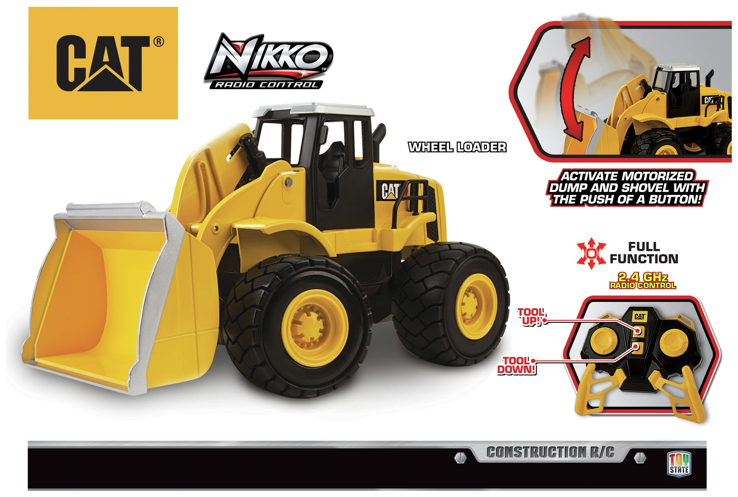 Image of CAT Construction RC Wheel Loader.