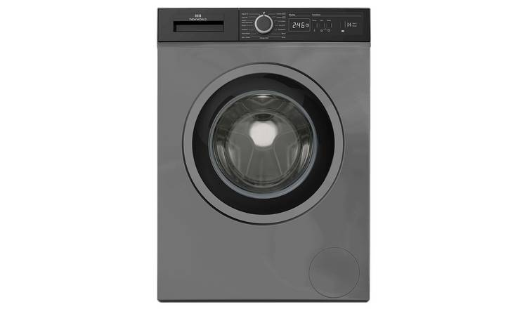 New World NWDHT914DG 9KG 1400 Spin Washing Machine - Grey