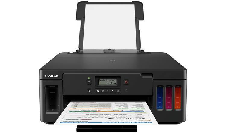 Canon PIXMA MegaTank G5050 Wireless Ink Tank Printer