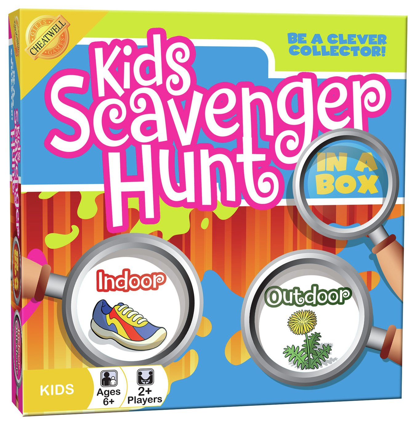 Image of Cheatwell Games Kids Scavenger Hunt Game