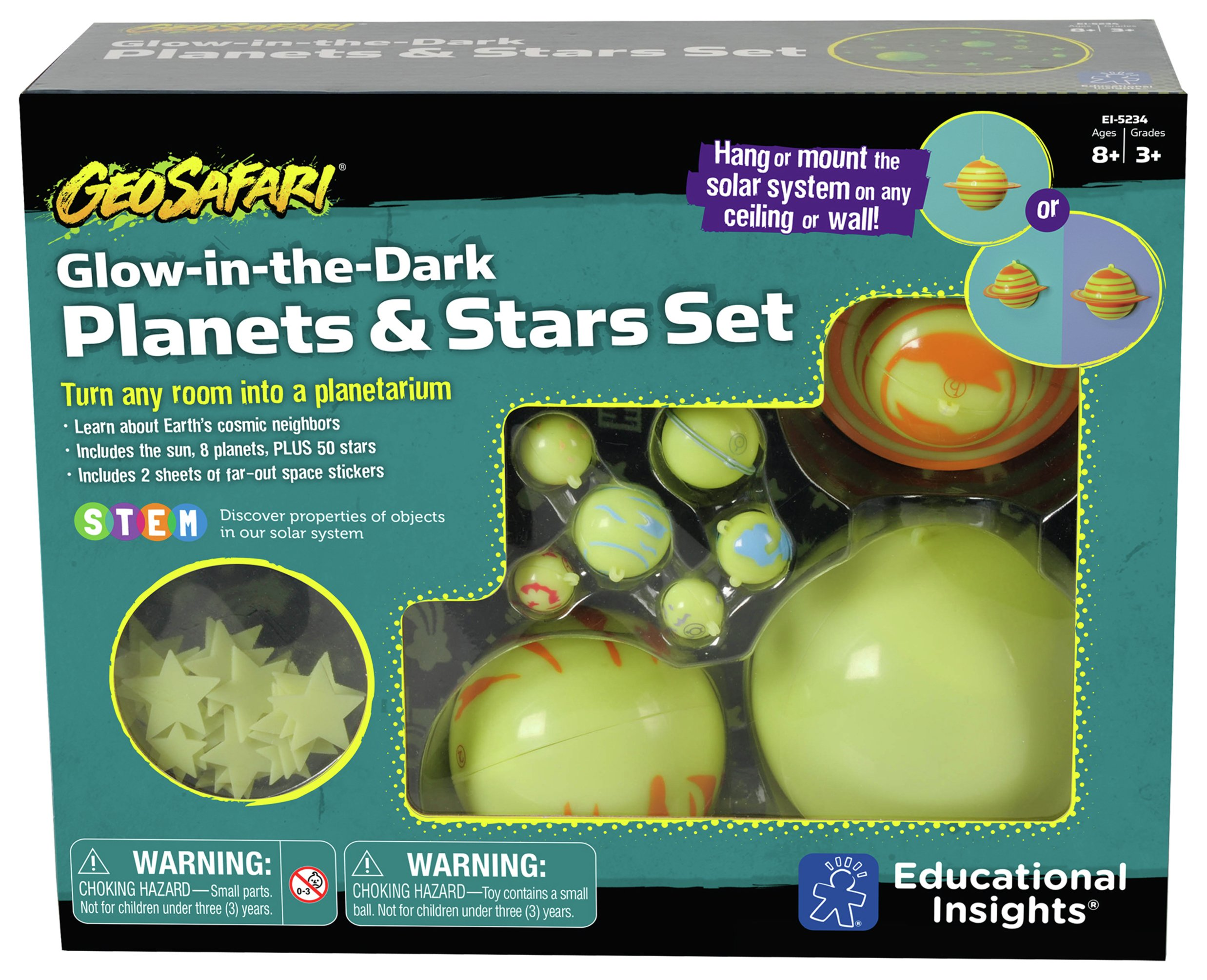 Sale On Geosafari Glow In The Dark Planets And Stars