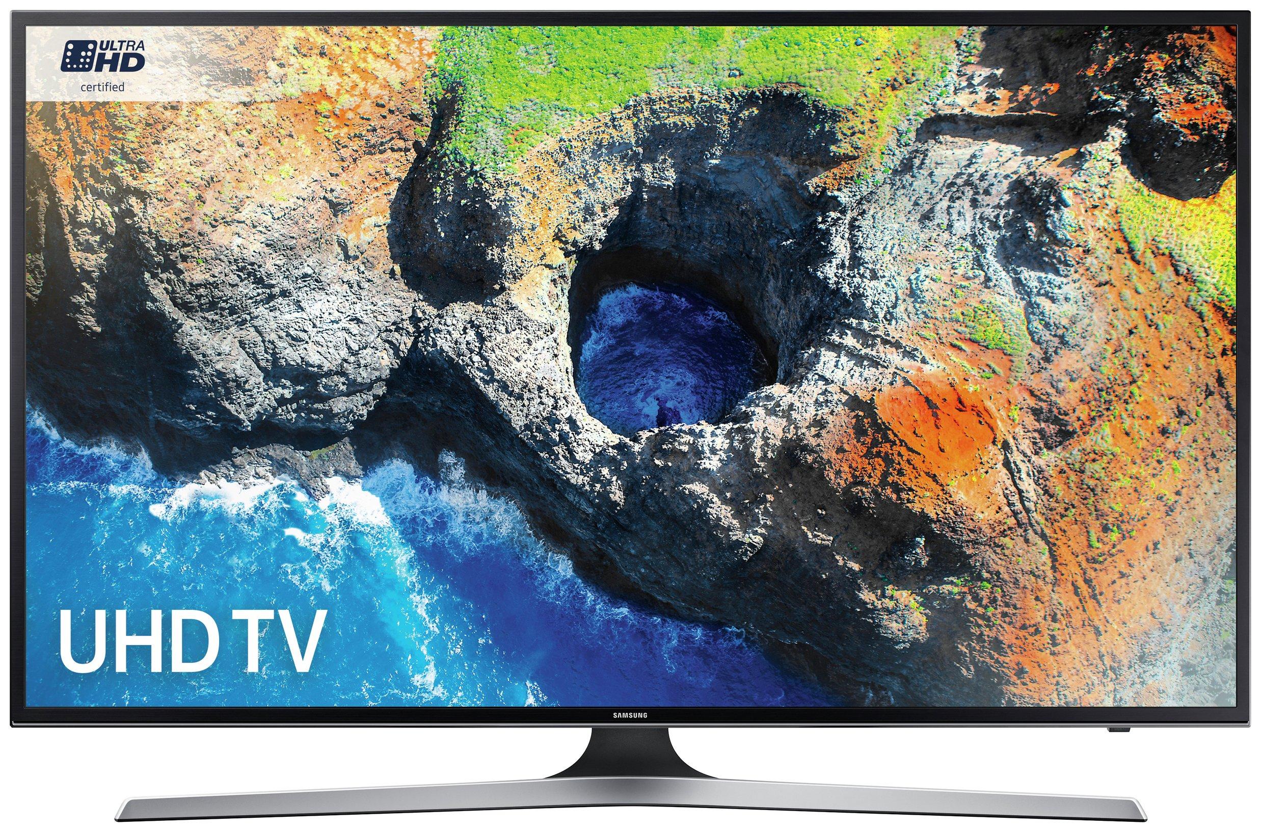 Samsung Samsung MU6120 65 Inch Smart 4K Ultra HD TV with HDR.
