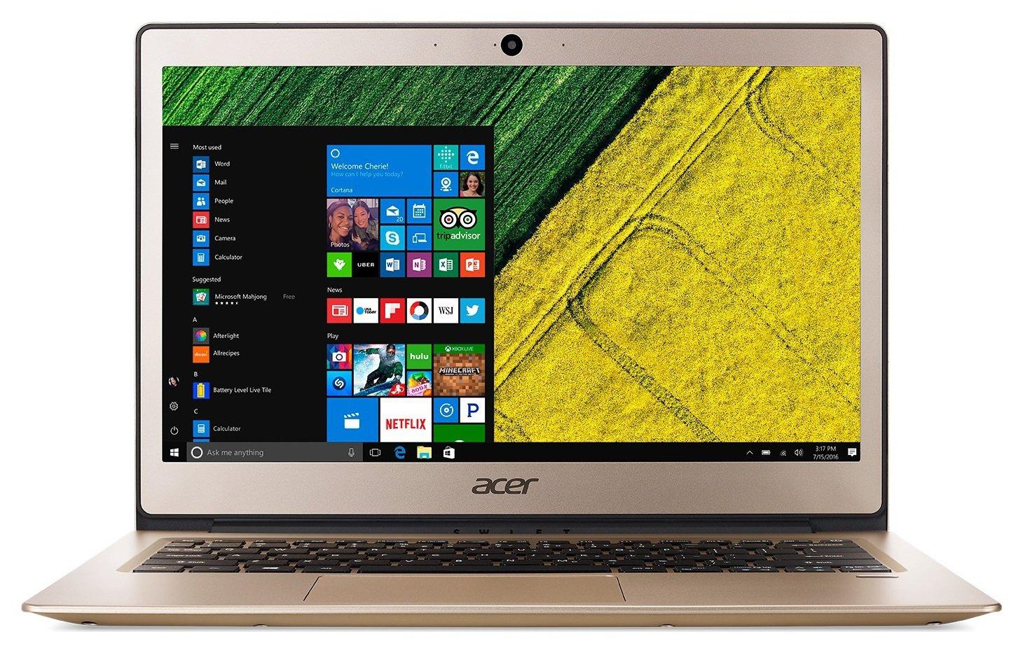 Acer Swift 1 13 Inch Pentium 4GB 128GB Laptop - Gold