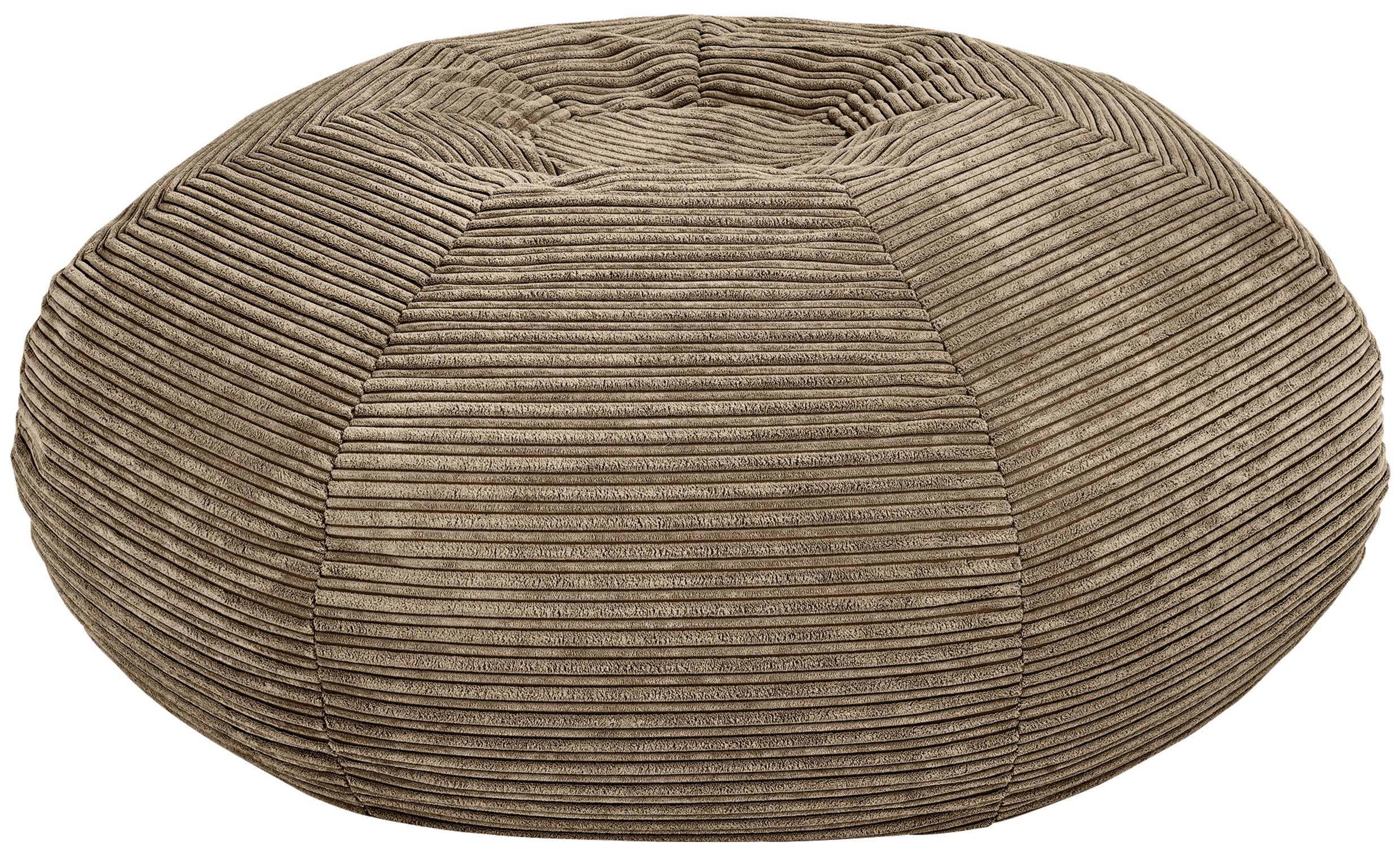 Home Harley Large Fabric Right Hand Corner Sofa Natural