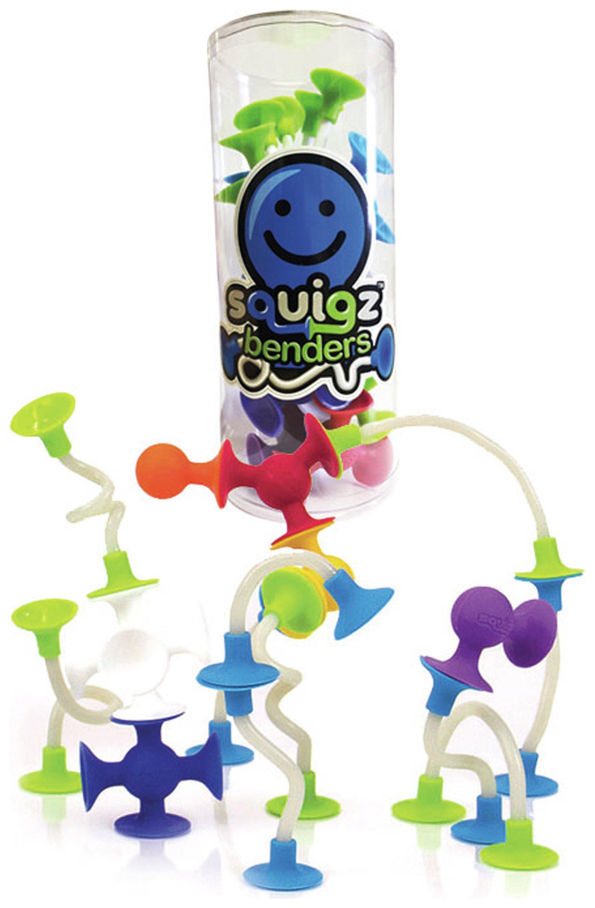 Fat Brain Toys Squigz Benders.